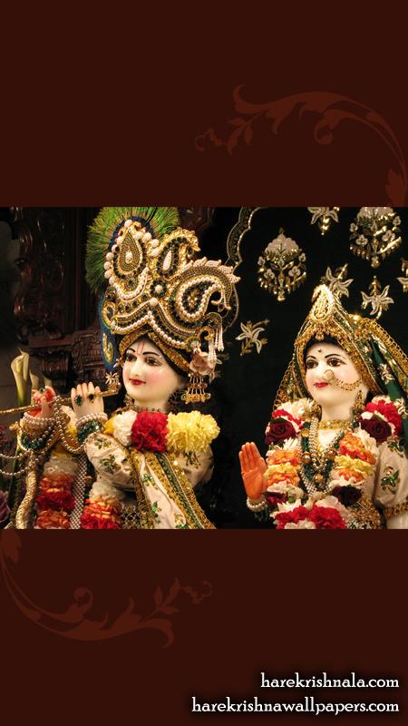 Sri Sri Rukmini Dwarkadhish Close up Wallpaper (010) Size 450x800 Download