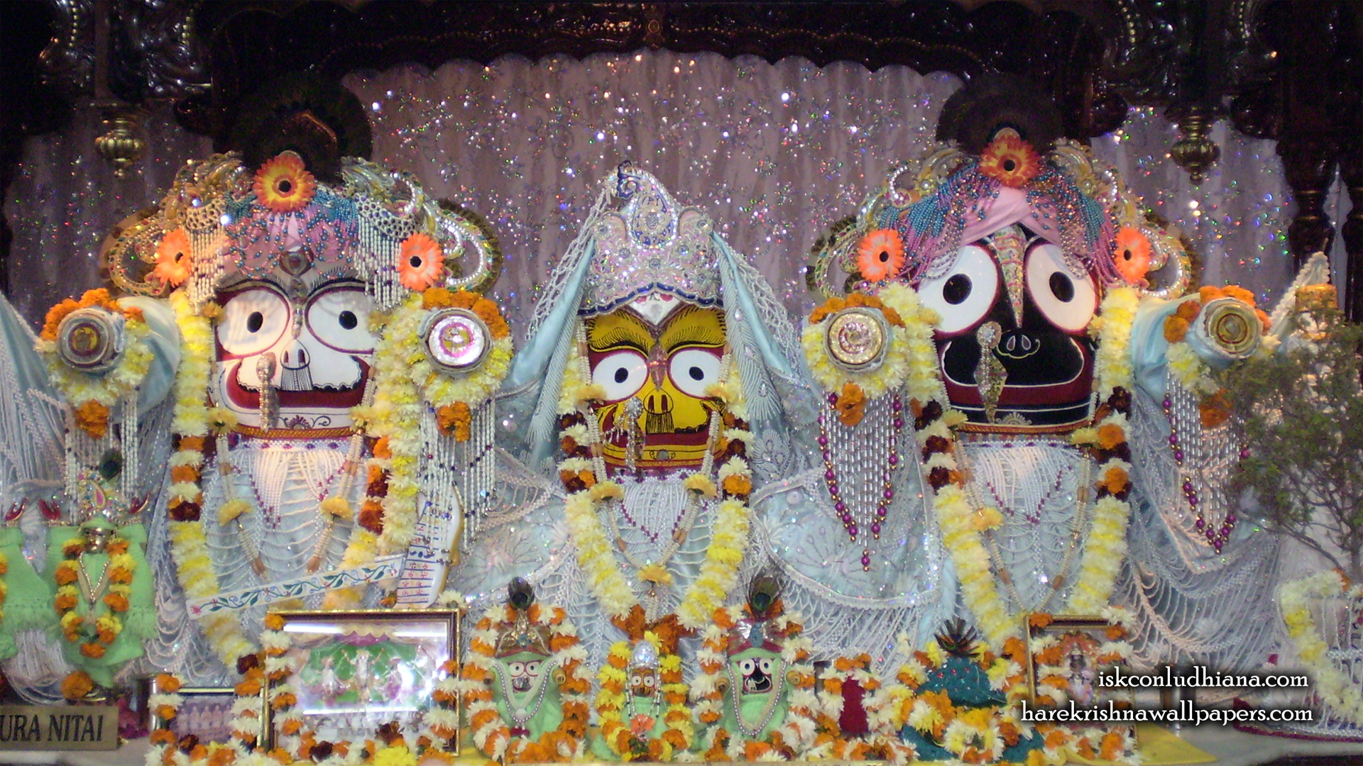 Jagannath Baladeva Subhadra Wallpaper (002) Size 1920x1080 Download