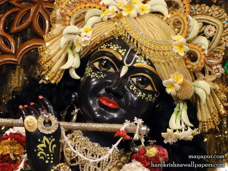 Sri Madhava Close up Wallpaper (003)