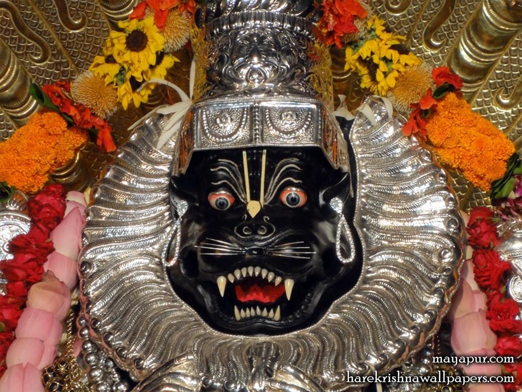 Sri Narasimha Deva Close up Wallpaper (004) Size 1024x768 Download