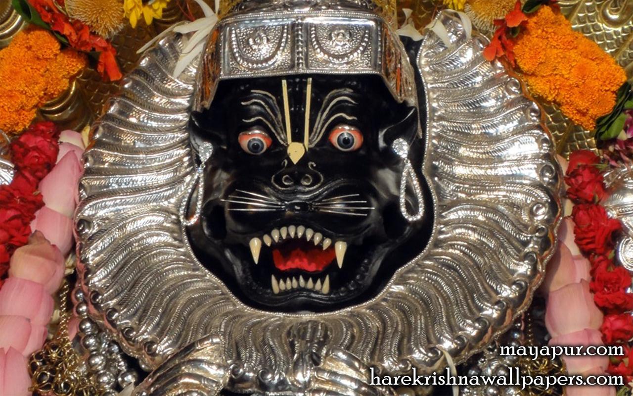 Sri Narasimha Deva Close up Wallpaper (004) Size 1280x800 Download