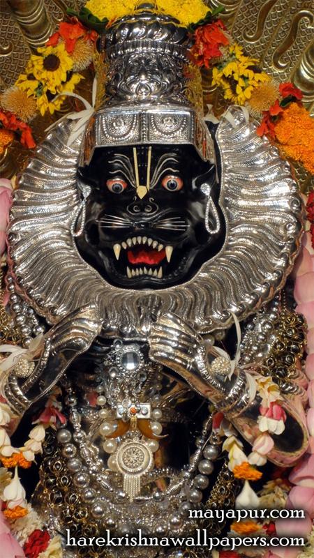 Sri Narasimha Deva Close up Wallpaper (004) Size 450x800 Download