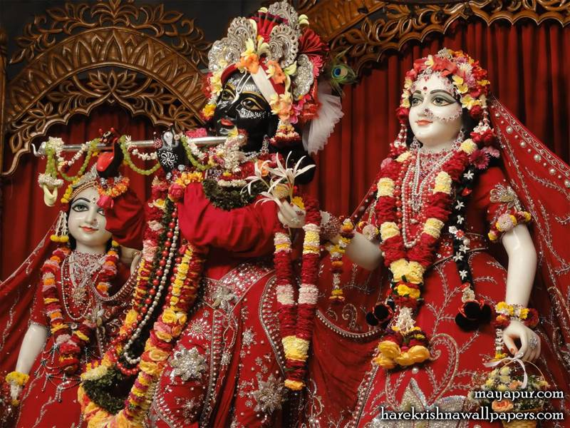 Sri Radha Madhava Close up (004)