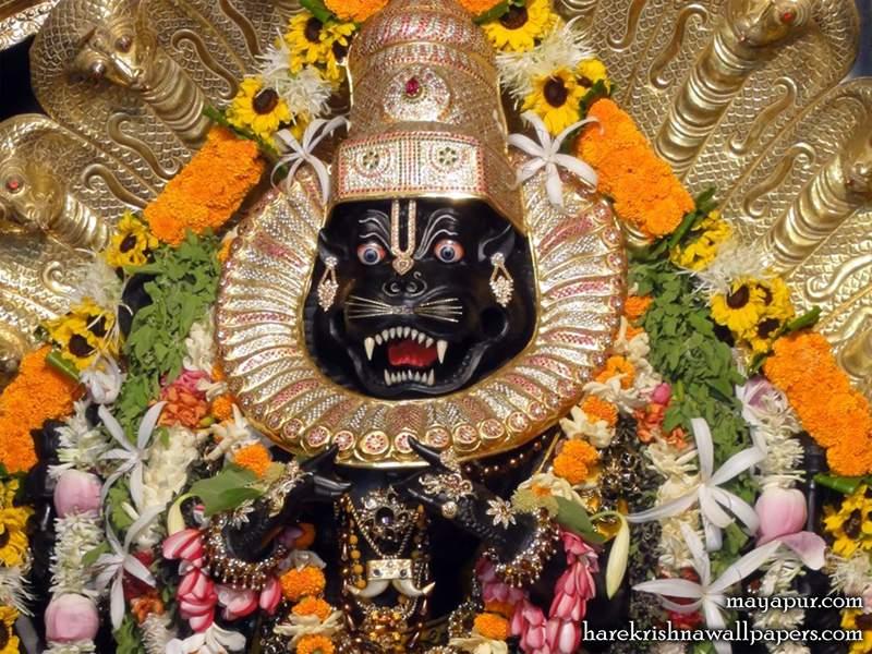 Sri Narasimha Deva Close up Wallpaper (008)