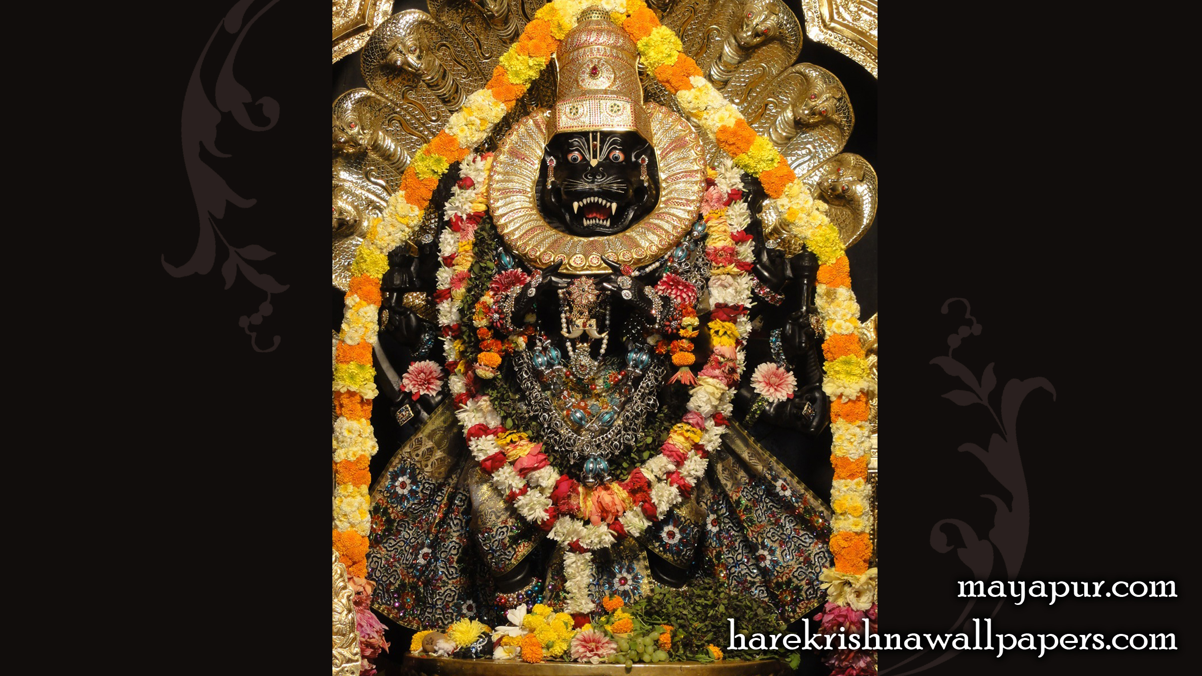 Sri Narasimha Deva Wallpaper (009) Size 2400x1350 Download