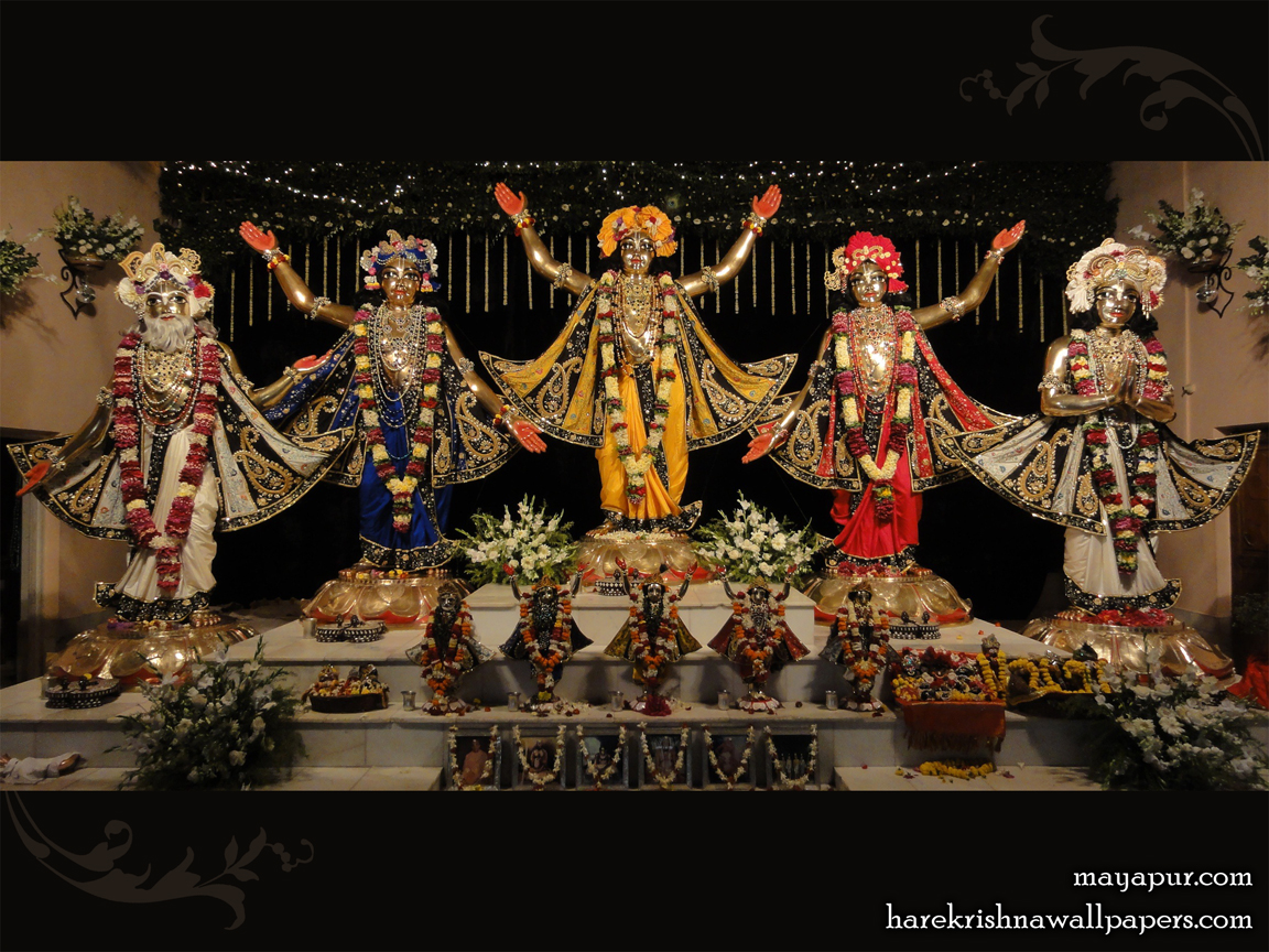 Sri Panchatatva Wallpaper (010) Size 1152x864 Download