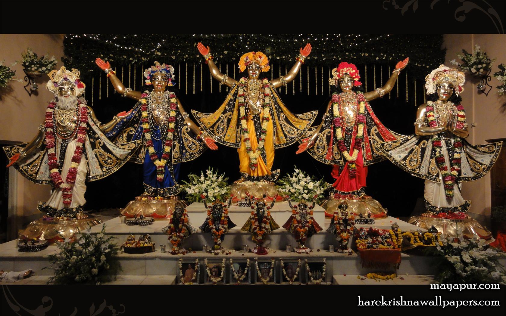 Sri Panchatatva Wallpaper (010) Size 1680x1050 Download