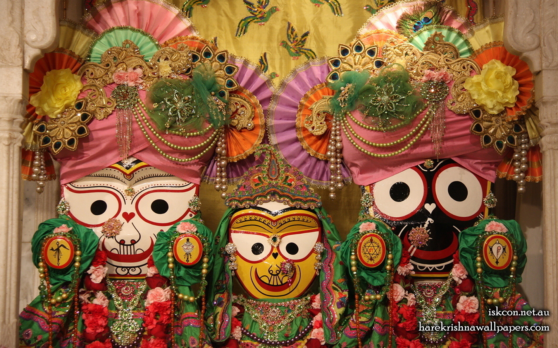 Jagannath Baladeva Subhadra Wallpaper (001) Size 1440x900 Download