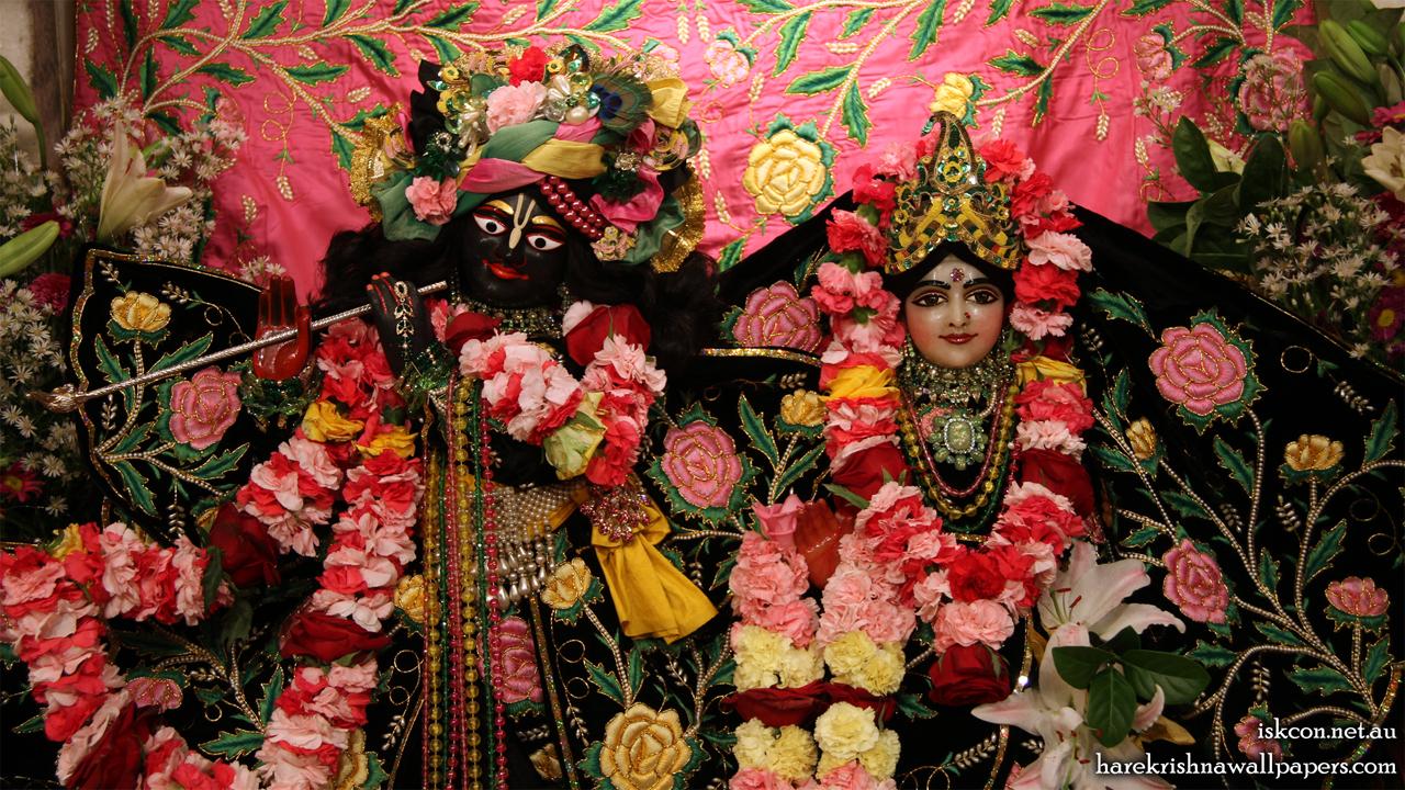 Sri Sri Radha Vallabh Close up Wallpaper (001) Size 1280x720 Download