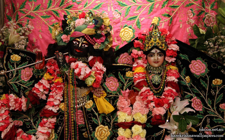 Sri Sri Radha Vallabh Close up Wallpaper (001) Size 1440x900 Download
