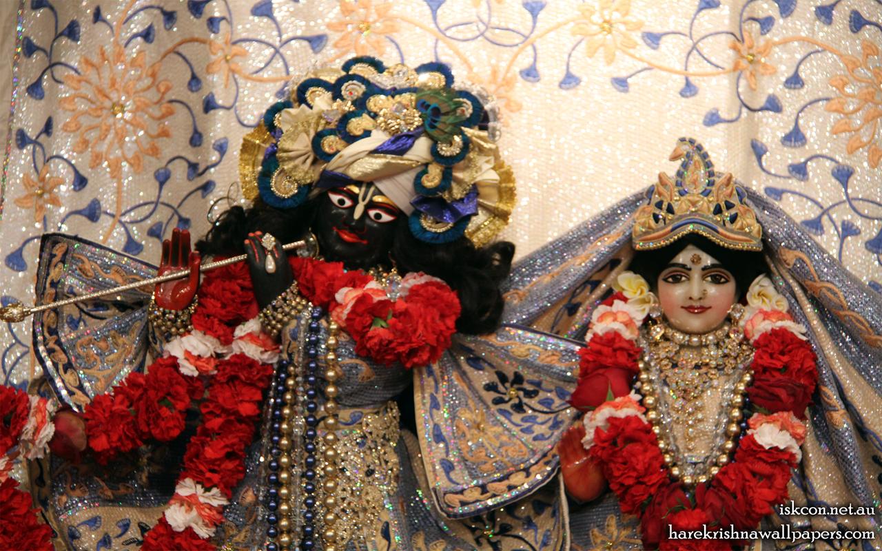 Sri Sri Radha Vallabh Close up Wallpaper (002) Size 1280x800 Download