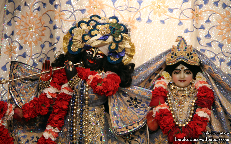 Sri Sri Radha Vallabh Close up Wallpaper (002) Size 1440x900 Download