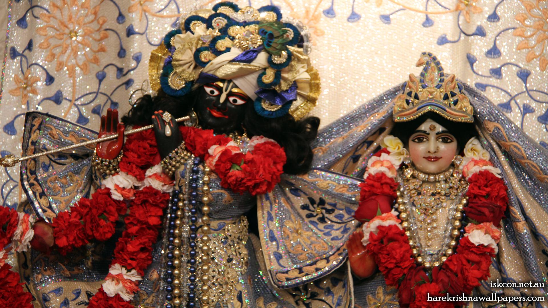 Sri Sri Radha Vallabh Close up Wallpaper (002) Size 1920x1080 Download