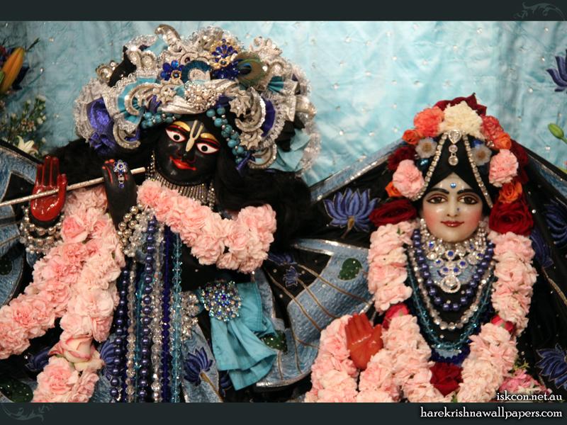 Sri Sri Radha Vallabh Close up Wallpaper (003) Size 800x600 Download