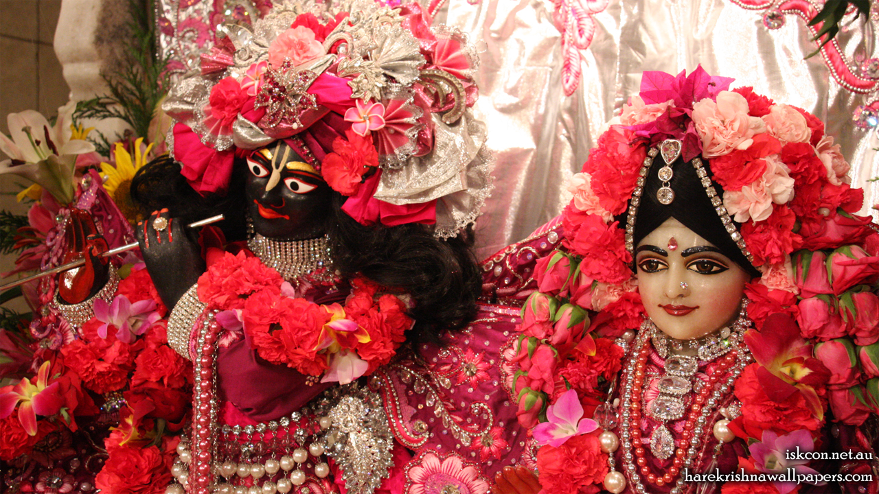 Sri Sri Radha Vallabh Close up Wallpaper (004) Size 1280x720 Download