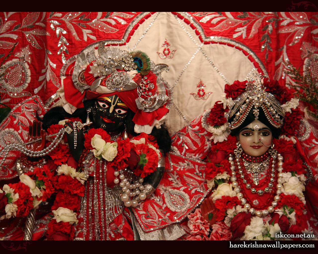 Sri Sri Radha Vallabh Close up Wallpaper (005) Size 1280x1024 Download