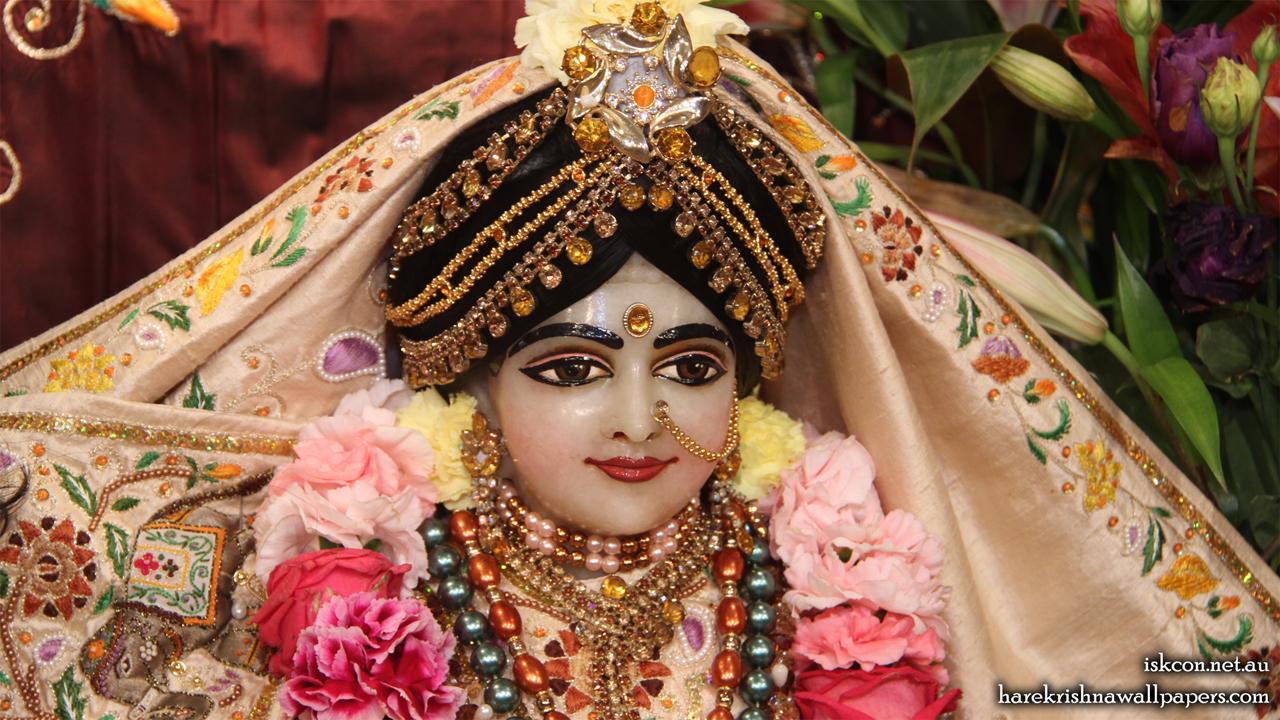Sri Radha Close up Wallpaper (006) Size 1280x720 Download