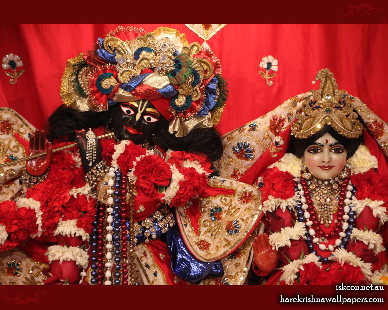 Sri Sri Radha Vallabh Close up Wallpaper (007) Size 1280x1024 Download