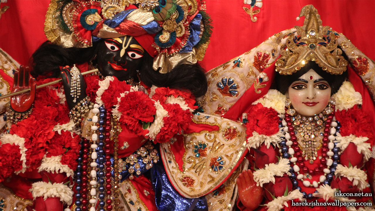 Sri Sri Radha Vallabh Close up Wallpaper (007) Size 1280x720 Download