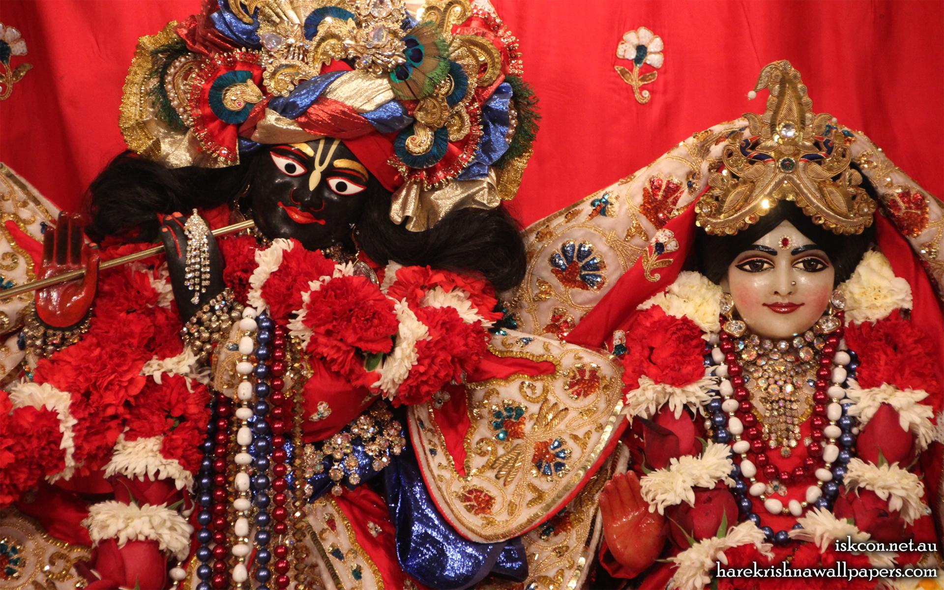Sri Sri Radha Vallabh Close up Wallpaper (007) Size 1920x1200 Download