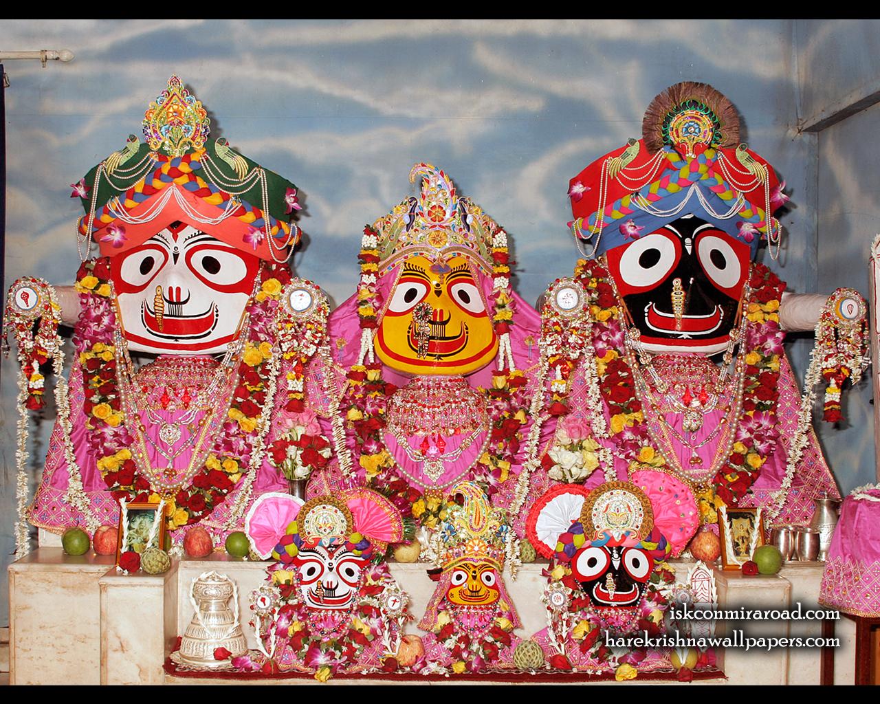 Jagannath Baladeva Subhadra Wallpaper (001) Size 1280x1024 Download