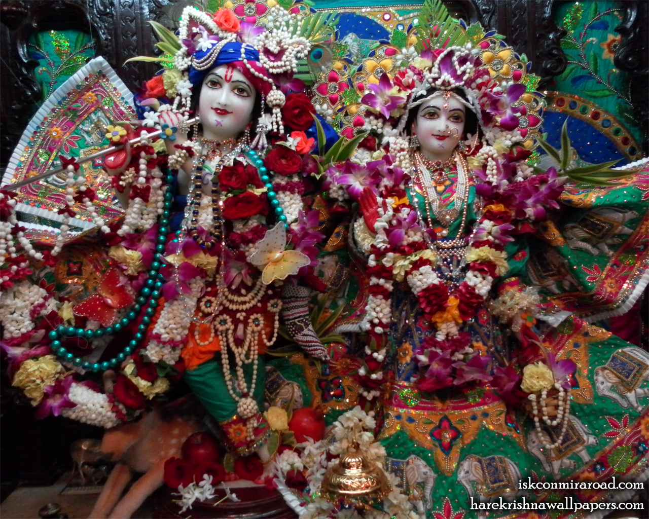Sri Sri Radha Giridhari Wallpaper (001) Size 1280x1024 Download