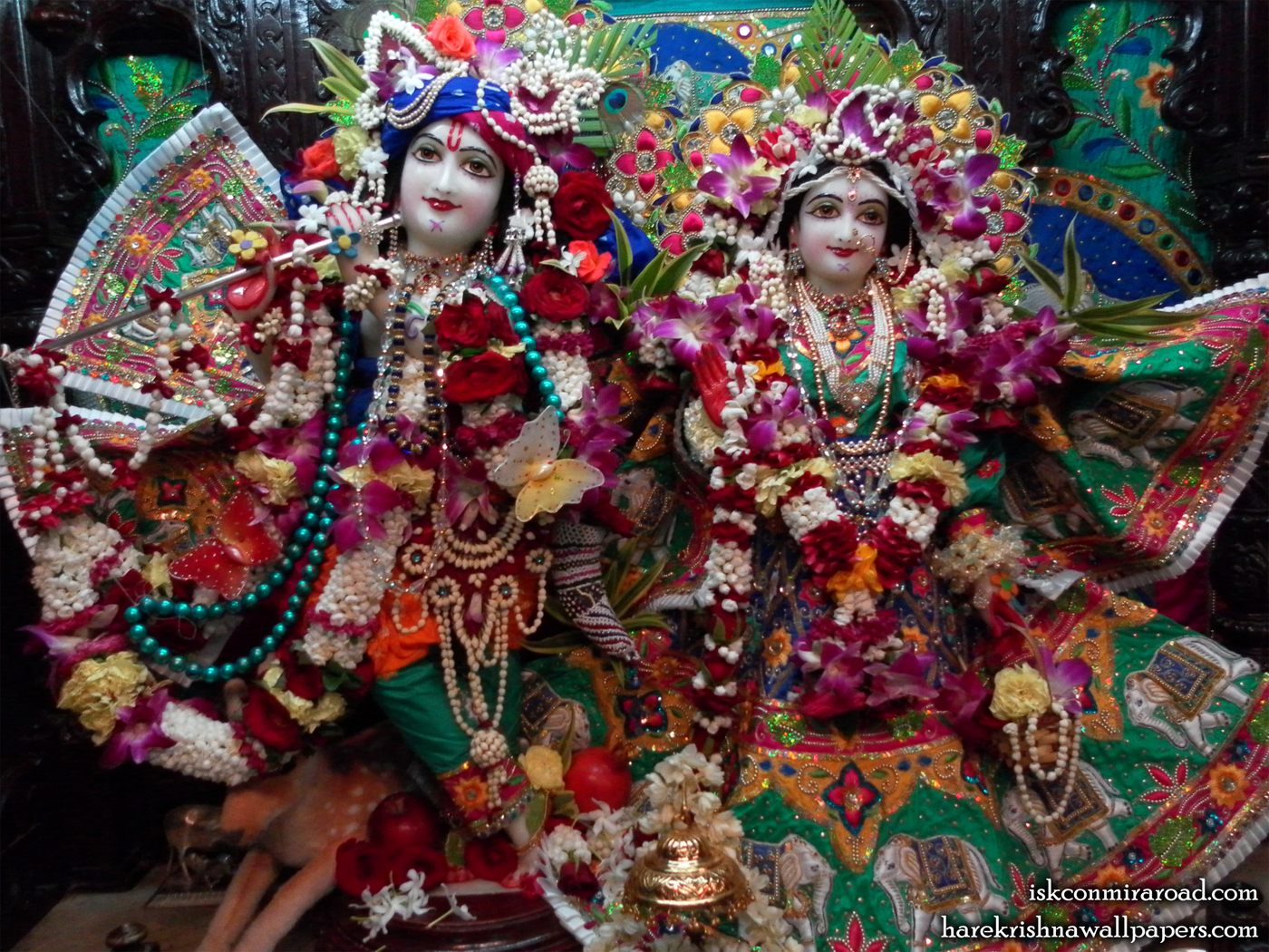 Sri Sri Radha Giridhari Wallpaper (001) Size 1400x1050 Download