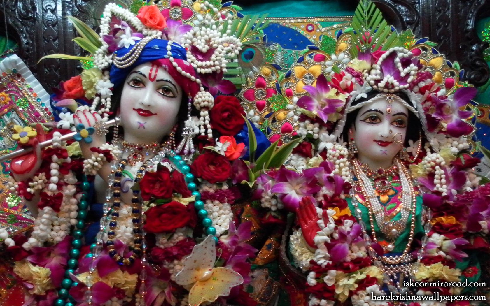 Sri Sri Radha Giridhari Close up Wallpaper (001) Size 1680x1050 Download