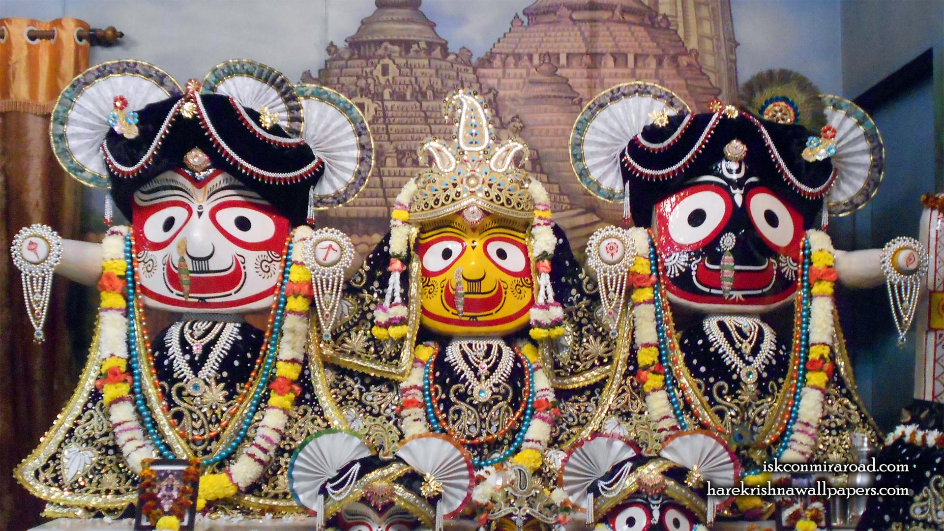 Jagannath Baladeva Subhadra Wallpaper (002) Size 1920x1080 Download