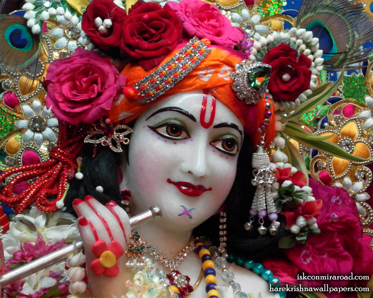 Sri Giridhari Close up Wallpaper (002) Size 1280x1024 Download