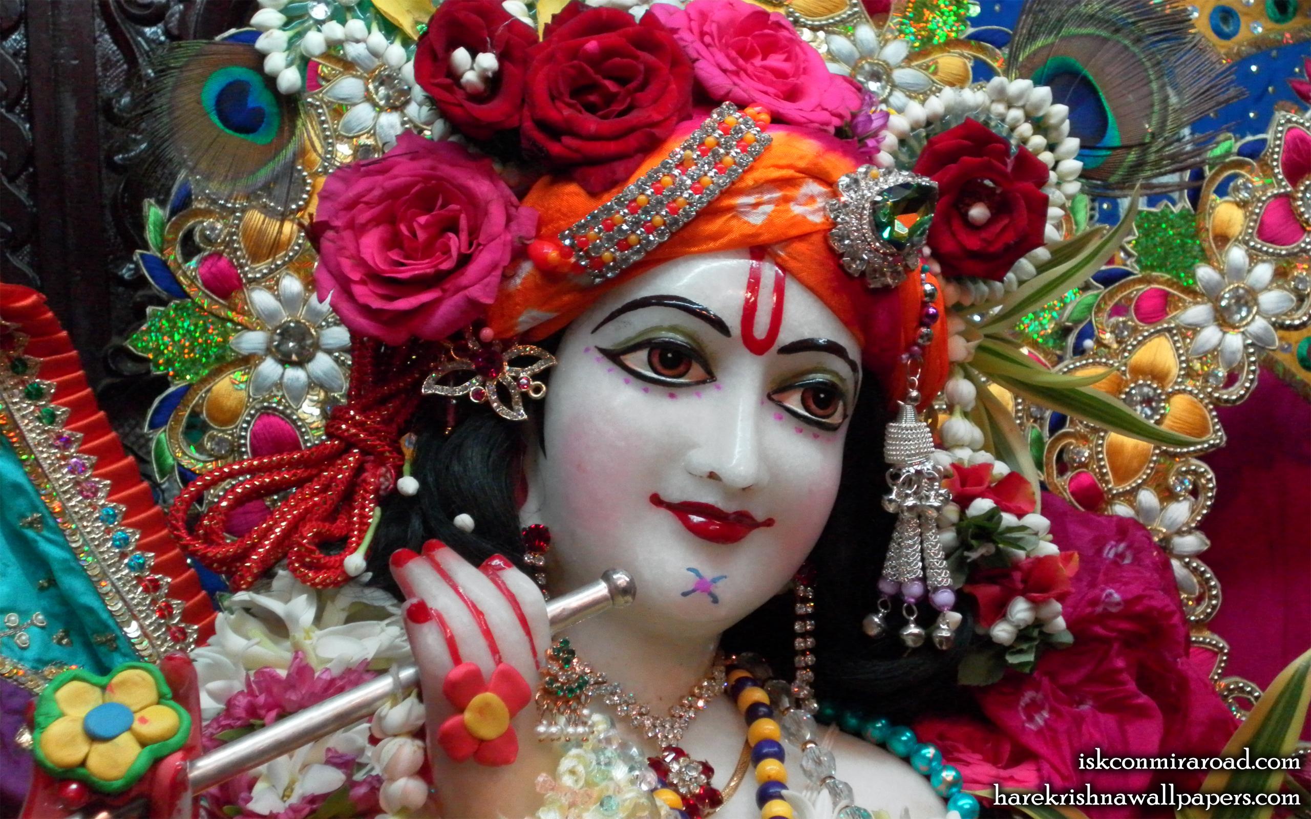 Sri Giridhari Close up Wallpaper (002) Size 2560x1600 Download
