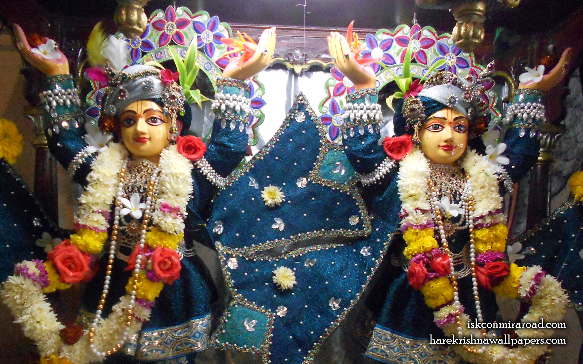 Sri Sri Gaura Nitai Close up Wallpaper (002) Size 1920x1200 Download