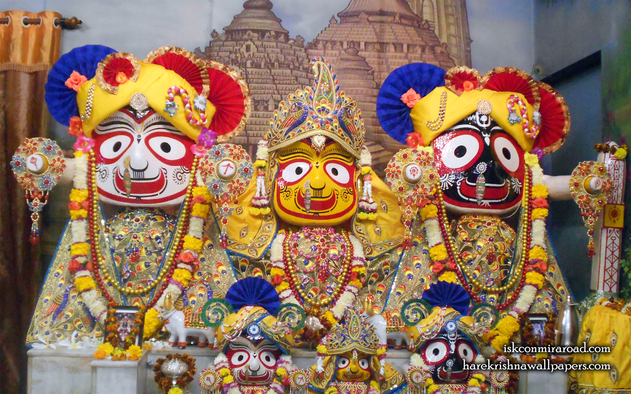 Jagannath Baladeva Subhadra Wallpaper (003) Size 1280x800 Download