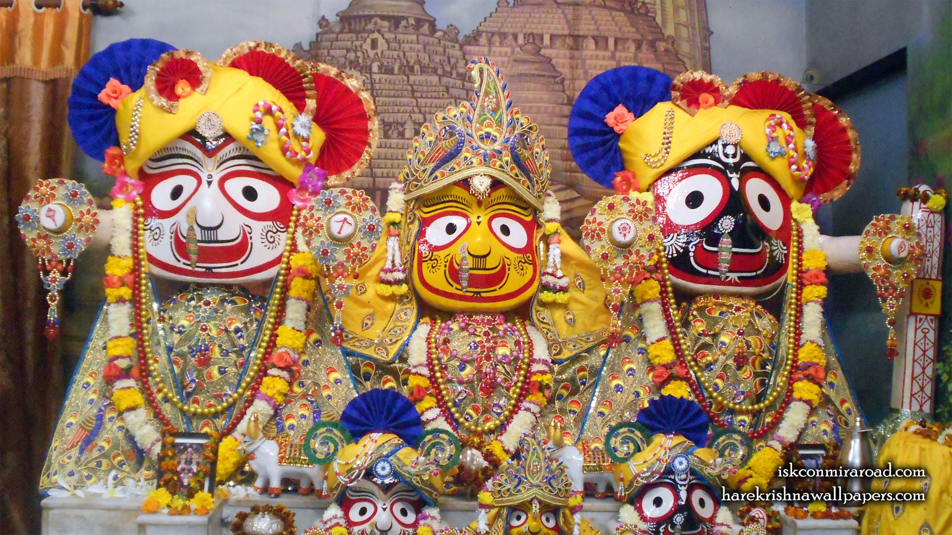 Jagannath Baladeva Subhadra Wallpaper (003) Size 1920x1080 Download