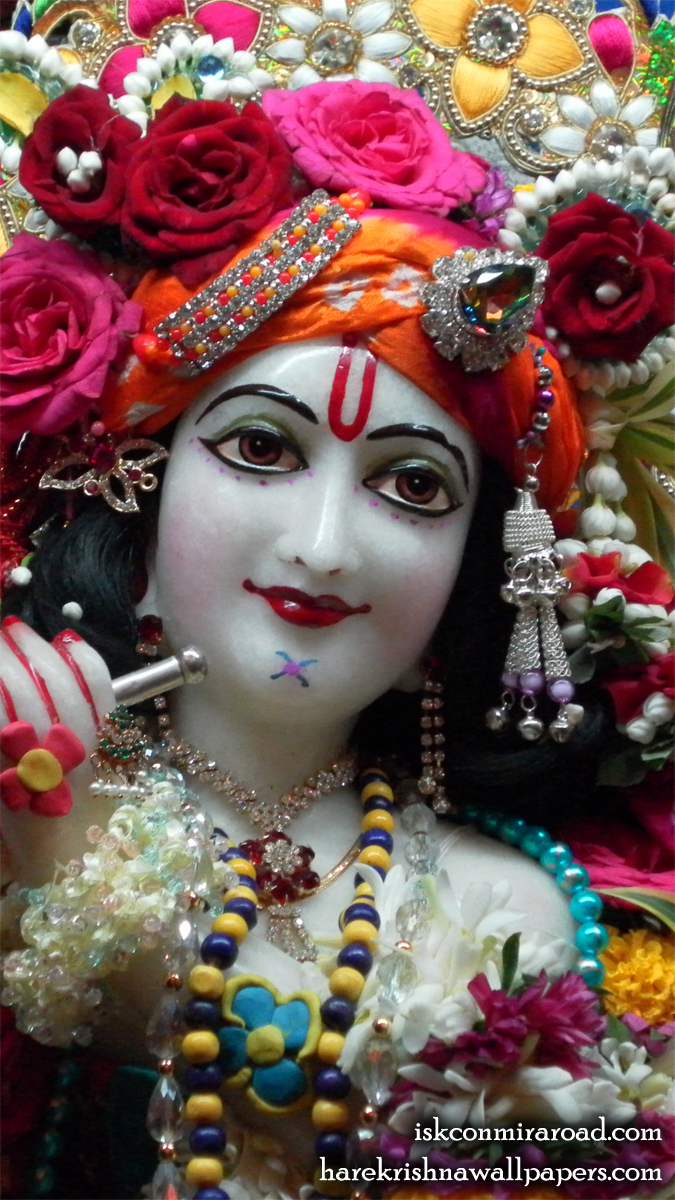 Sri Giridhari Close up Wallpaper (003) Size 675x1200 Download