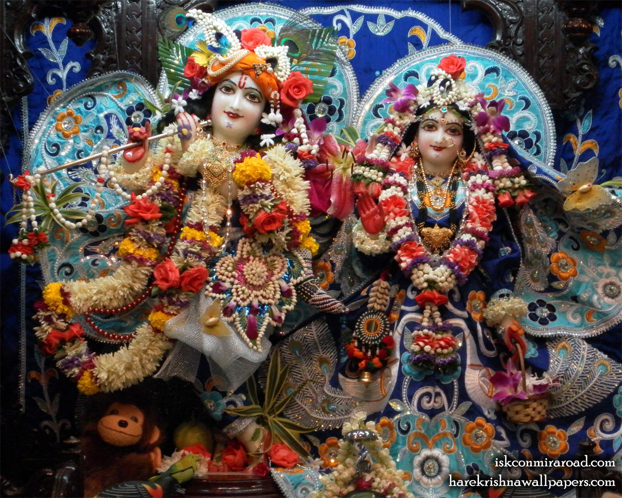 Sri Sri Radha Giridhari Wallpaper (004) Size 1280x1024 Download