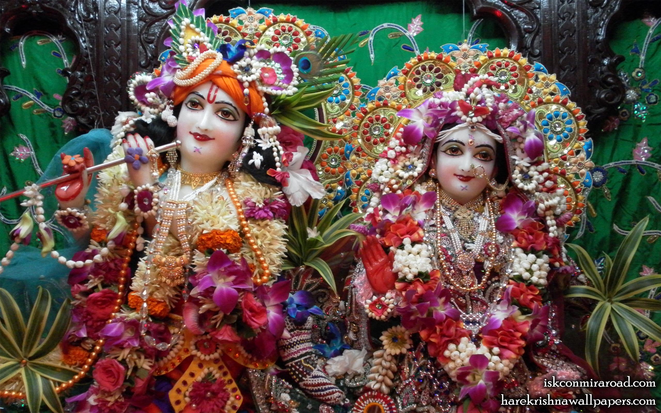 Sri Sri Radha Giridhari Close up Wallpaper (004) Size 2560x1600 Download