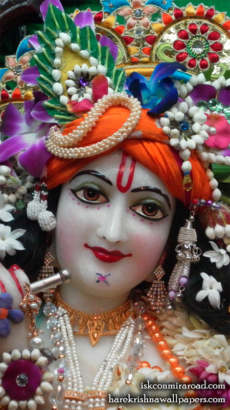 Sri Giridhari Close up Wallpaper (005) Size 450x800 Download