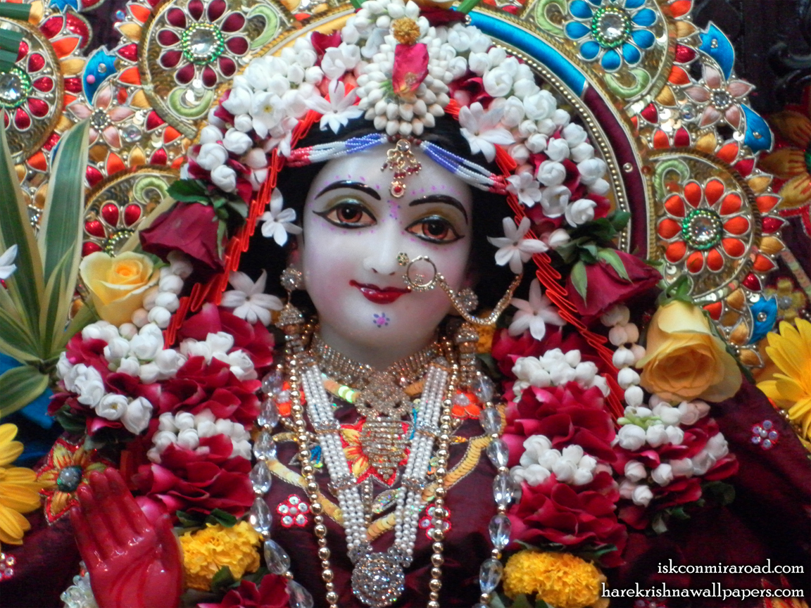 Sri Radha Close up Wallpaper (005) Size 1152x864 Download