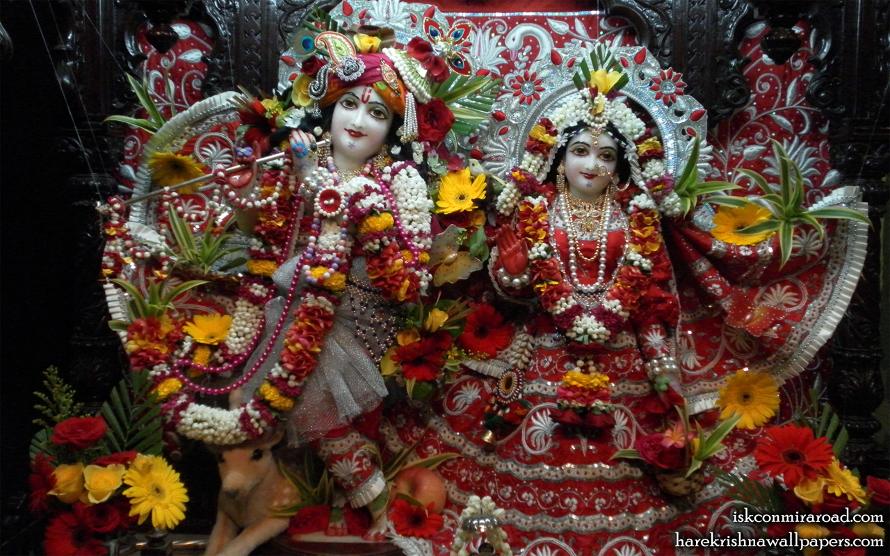 Sri Sri Radha Giridhari Wallpaper (006) Size 1280x800 Download