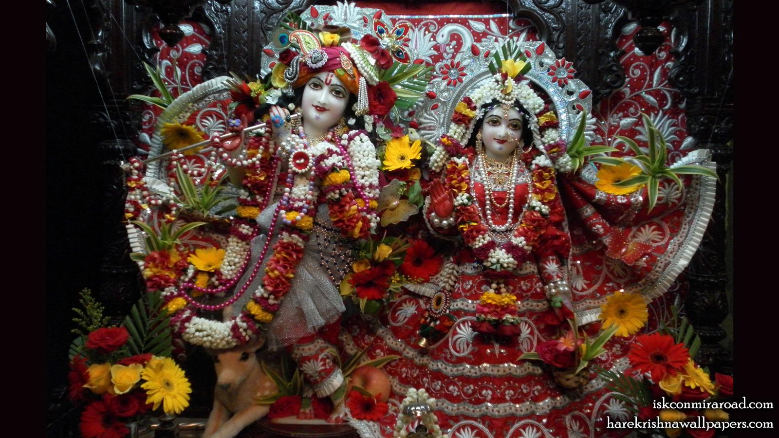 Sri Sri Radha Giridhari Wallpaper (006) Size 1600x900 Download
