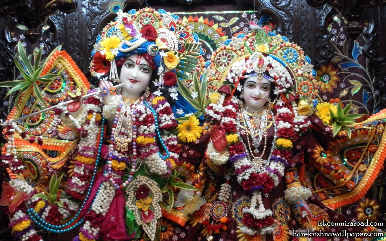 Sri Sri Radha Giridhari Close up Wallpaper (006) Size 1280x800 Download