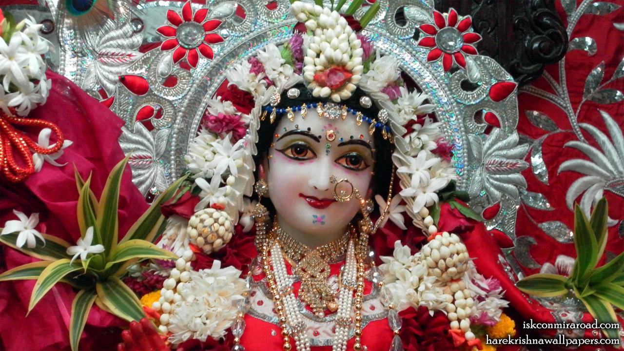 Sri Radha Close up Wallpaper (008) Size 1280x720 Download