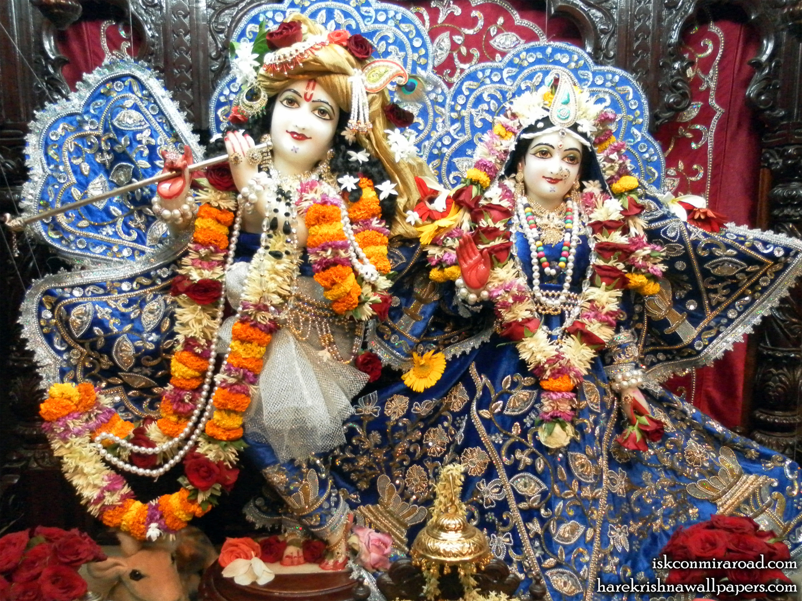 Sri Sri Radha Giridhari Wallpaper (008) Size1600x1200 Download