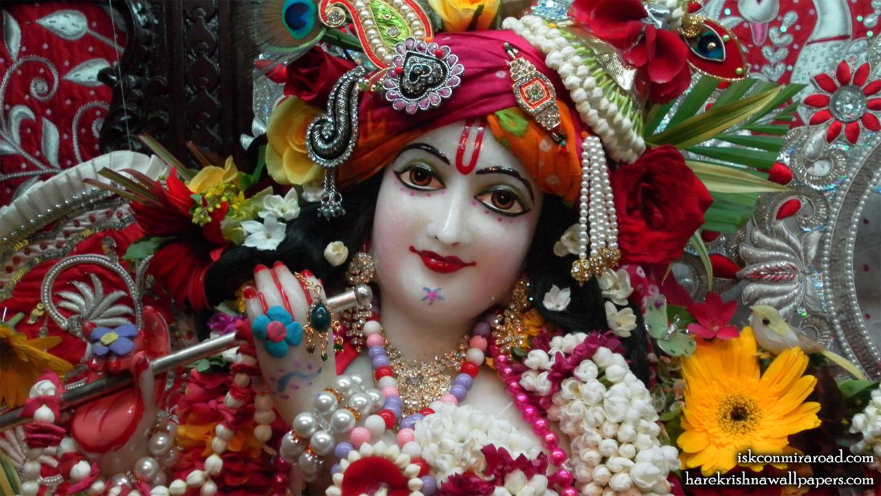 Sri Giridhari Close up Wallpaper (009) Size 1280x720 Download
