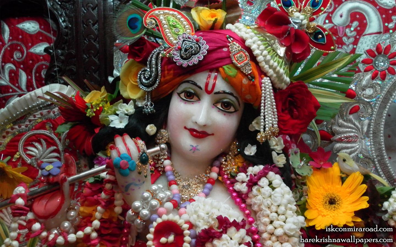 Sri Giridhari Close up Wallpaper (009) Size 1440x900 Download