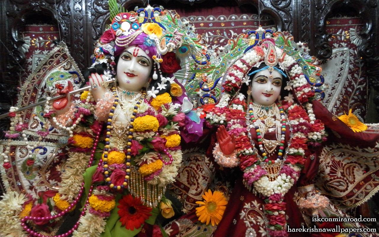 Sri Sri Radha Giridhari Close up Wallpaper (009) Size 1280x800 Download