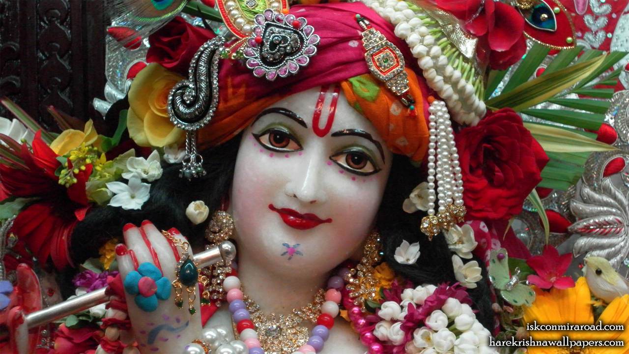 Sri Giridhari Close up Wallpaper (010) Size 1280x720 Download