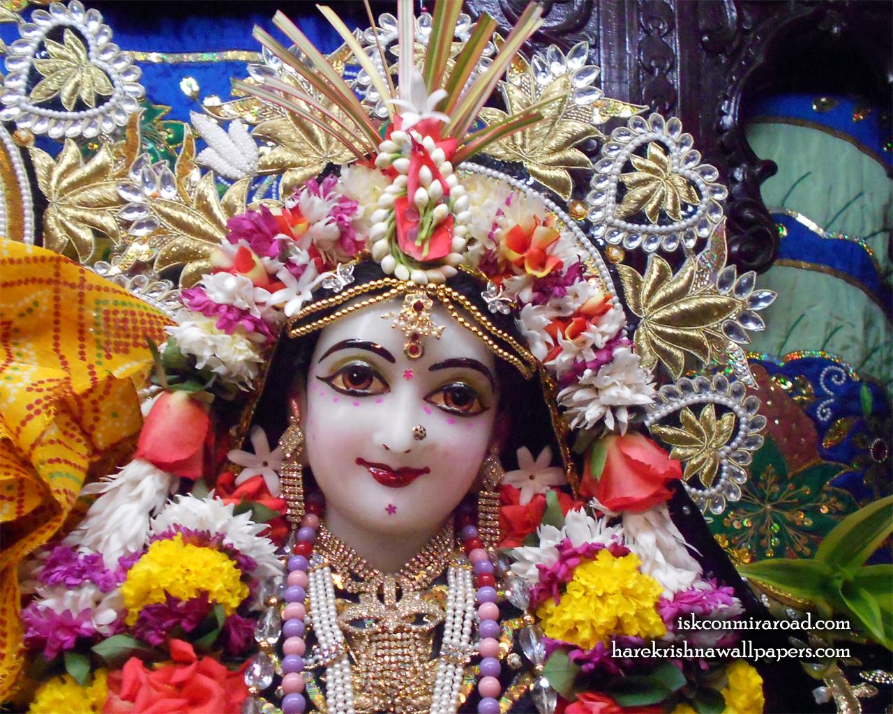 Sri Radha Close up Wallpaper (010) Size 1280x1024 Download