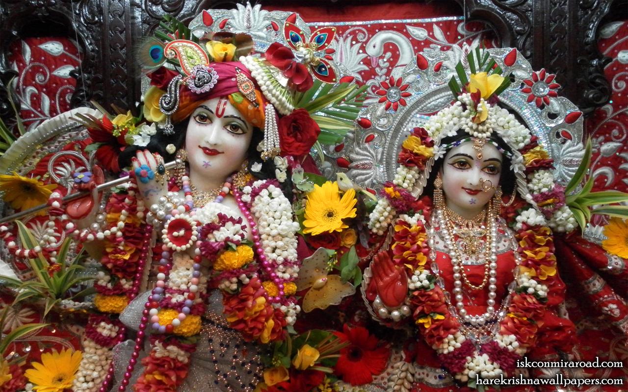 Sri Sri Radha Giridhari Close up Wallpaper (010) Size 1280x800 Download